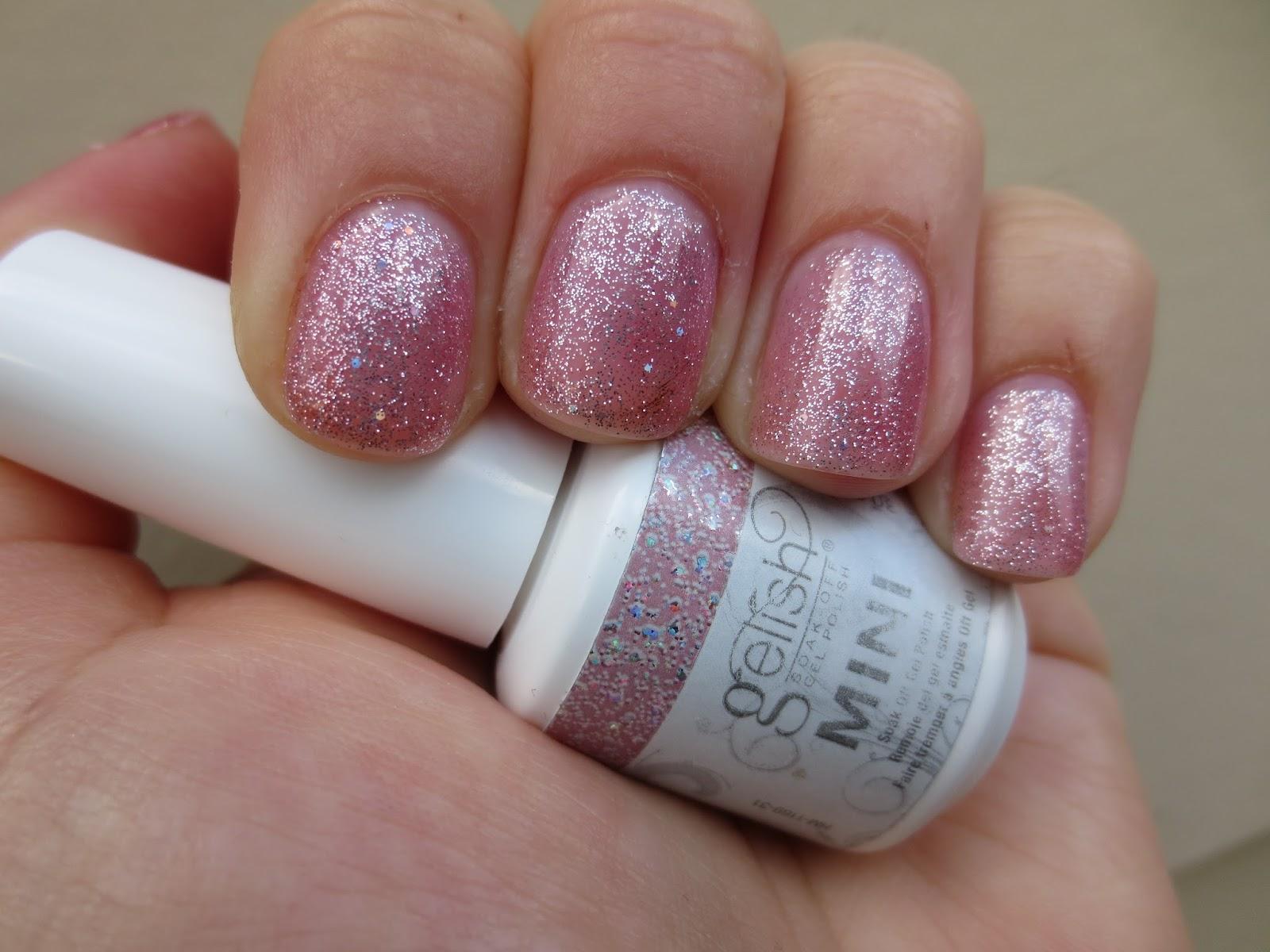 Gelish nail polish june bride