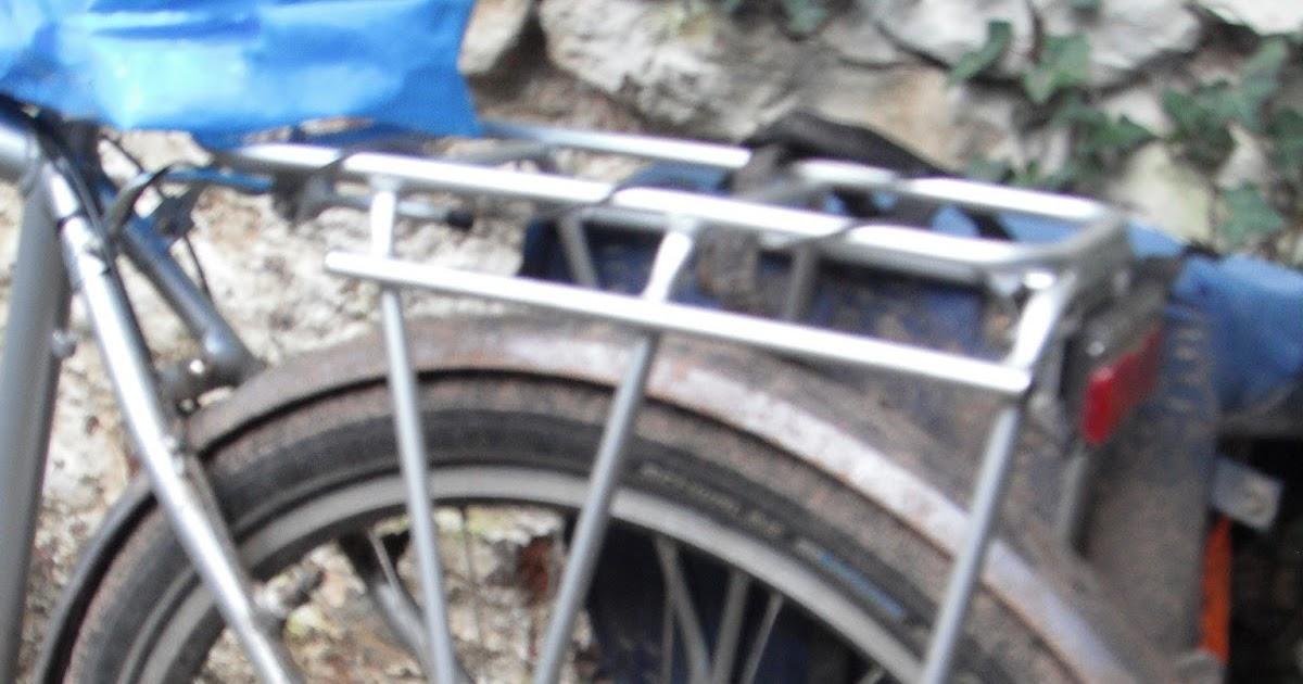 Tortec Transalp Bike//Cycling Rear Disc Brake Pannier Bag Rack Black
