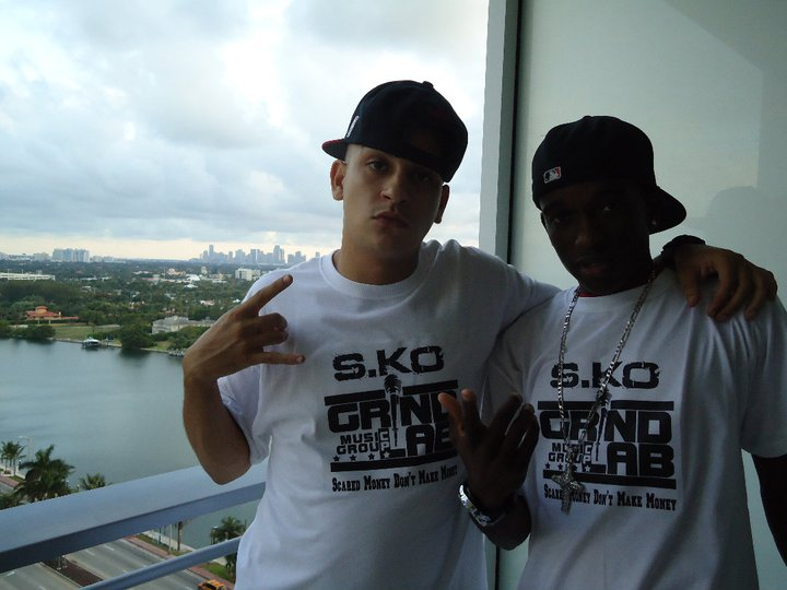 S.Ko & Dirty E Promoting New Mixtape in South Beach