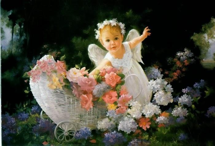 Spiritualit et sagesse pri re de r confort pour la perte d 39 un enfant - Angel baby pictures wallpapers ...