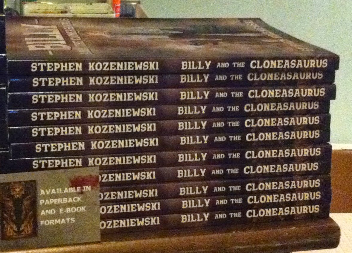 http://www.amazon.com/Billy-Cloneasaurus-Stephen-Kozeniewski-ebook/dp/B00L7RXG6U/ref=la_B00FFLC5Y8_1_4_title_1_kin?s=books&ie=UTF8&qid=1426260407&sr=1-4