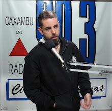 Tico Santa Cruz - Detonautas - Radio Circuito das Águas FM 90,3
