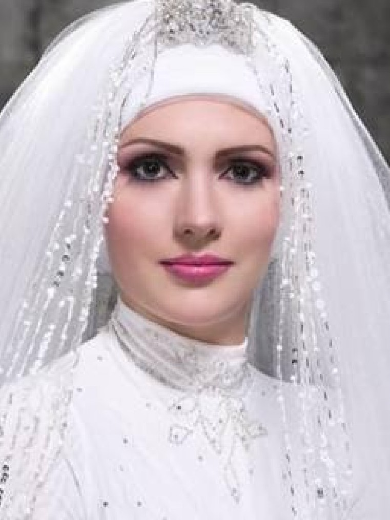 Wedding Dresses Wedding Hijab Fashion Trend 2013