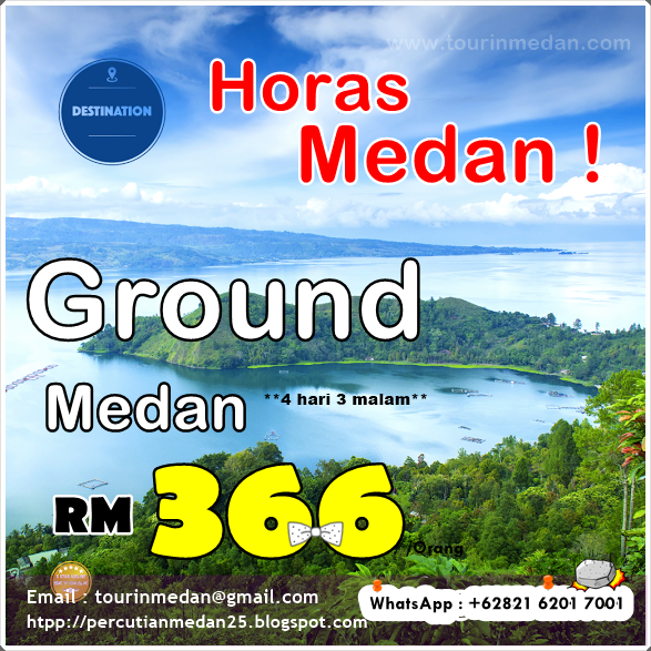 Pakej Muslim Medan 4h/3m