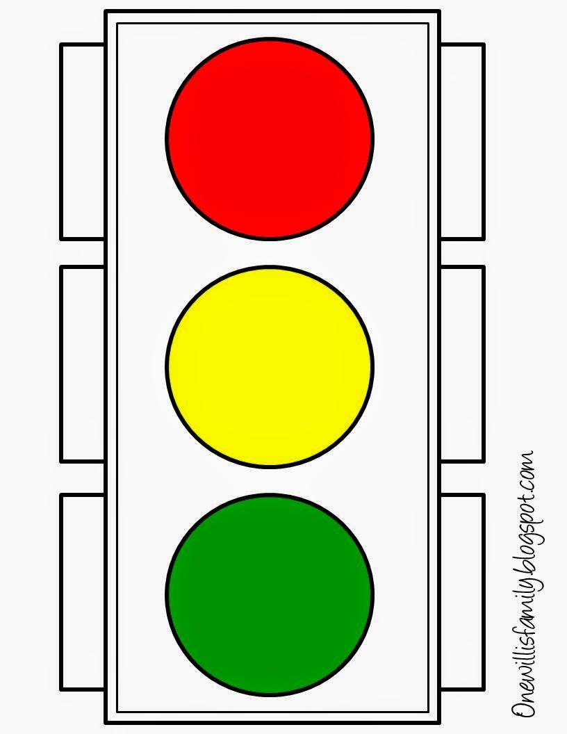 Decisive image with regard to traffic light printable