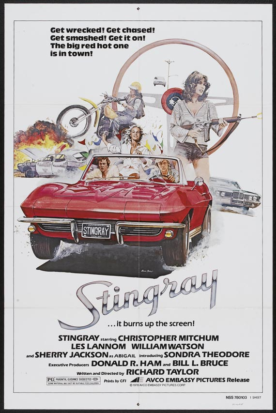 car exploitation movies  stingray