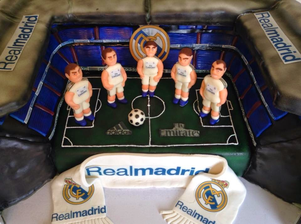 Utah County Wedding Cakes & Dessert Catering, Real Madrid Soccer Stadium Cake