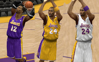 NBA 2K13 LA Lakers Jersey Patch