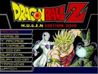 Dragon Ball Z MUGEN PC Game Download