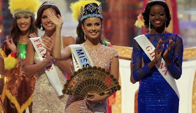 Miss World 2013 Winner in Bali Indonesia