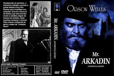 Cover, dvd, carátula: Mister Arkadin | 1955 | Mr. Arkadin (Confidential Report)