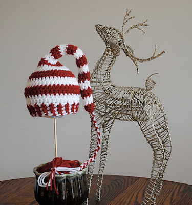 free crochet pattern elf hat