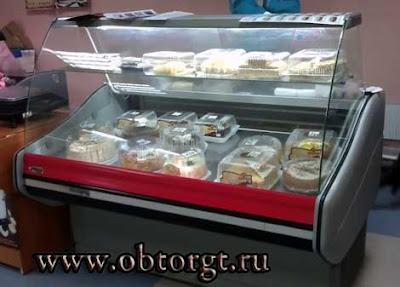 Продажа холодильных витрин и прочего оборудования в Тольятти.ФОТО