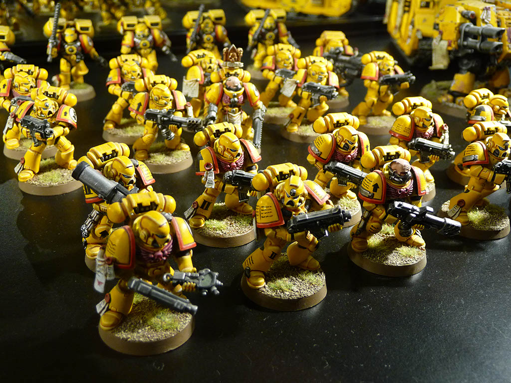 Confessions of a 40k addict warhammer world imperial fists for turiya64 - Imperial fists 40k ...