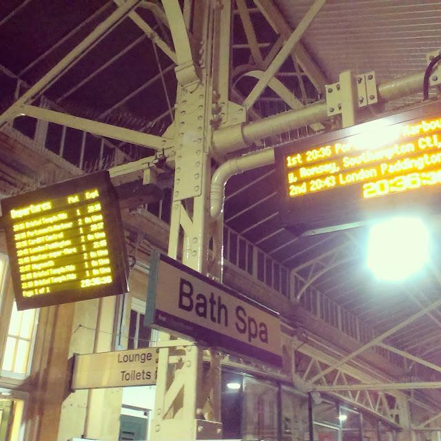 Bath Spa train station