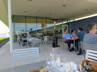 Outdoor patio at Farmers' Table @Southbrook