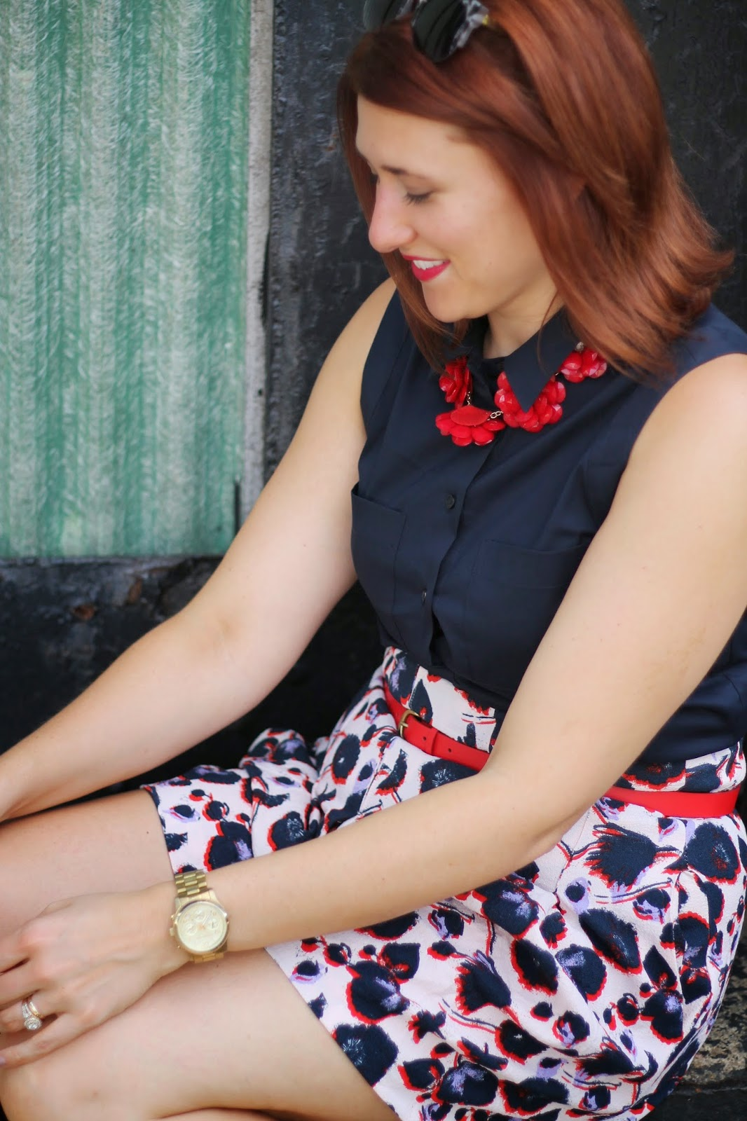 h&m, Floral, Shorts