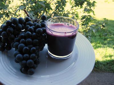 integratore d'autunno...uva nera e zinco!