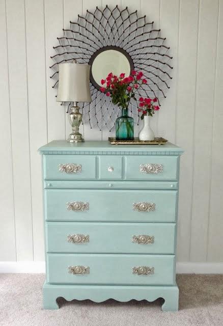Ötletes Blog: Laminált bútorok festése házilag