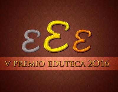 Finalistes al V premi Eduteca 2016