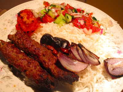 Somerville kitchen kabab koobideh feast the food for Ahmads persian cuisine