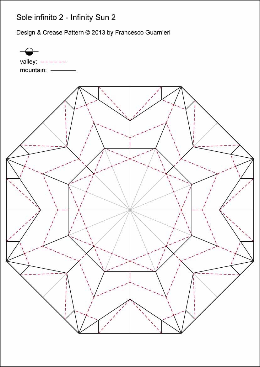 Origami-CP Sole infinito 2 - Infinity Sun 2 by Francesco Guarnieri