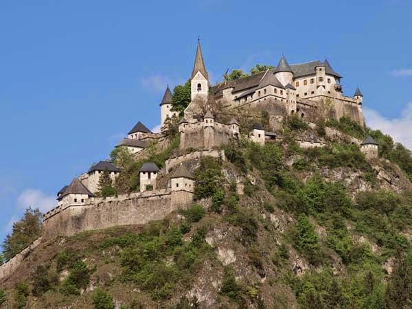 Hochosterwitz slot, Østrig