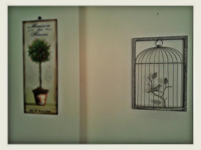 kuş kafesi, pano, metal, dekoratif kafes, bird cage