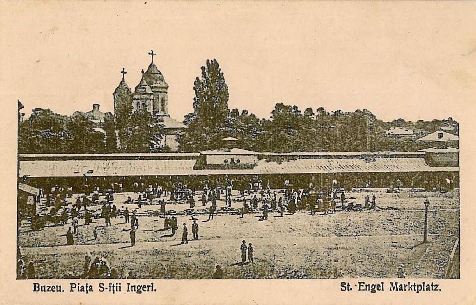 Piata Sfintii Ingeri din Buzaul vechi