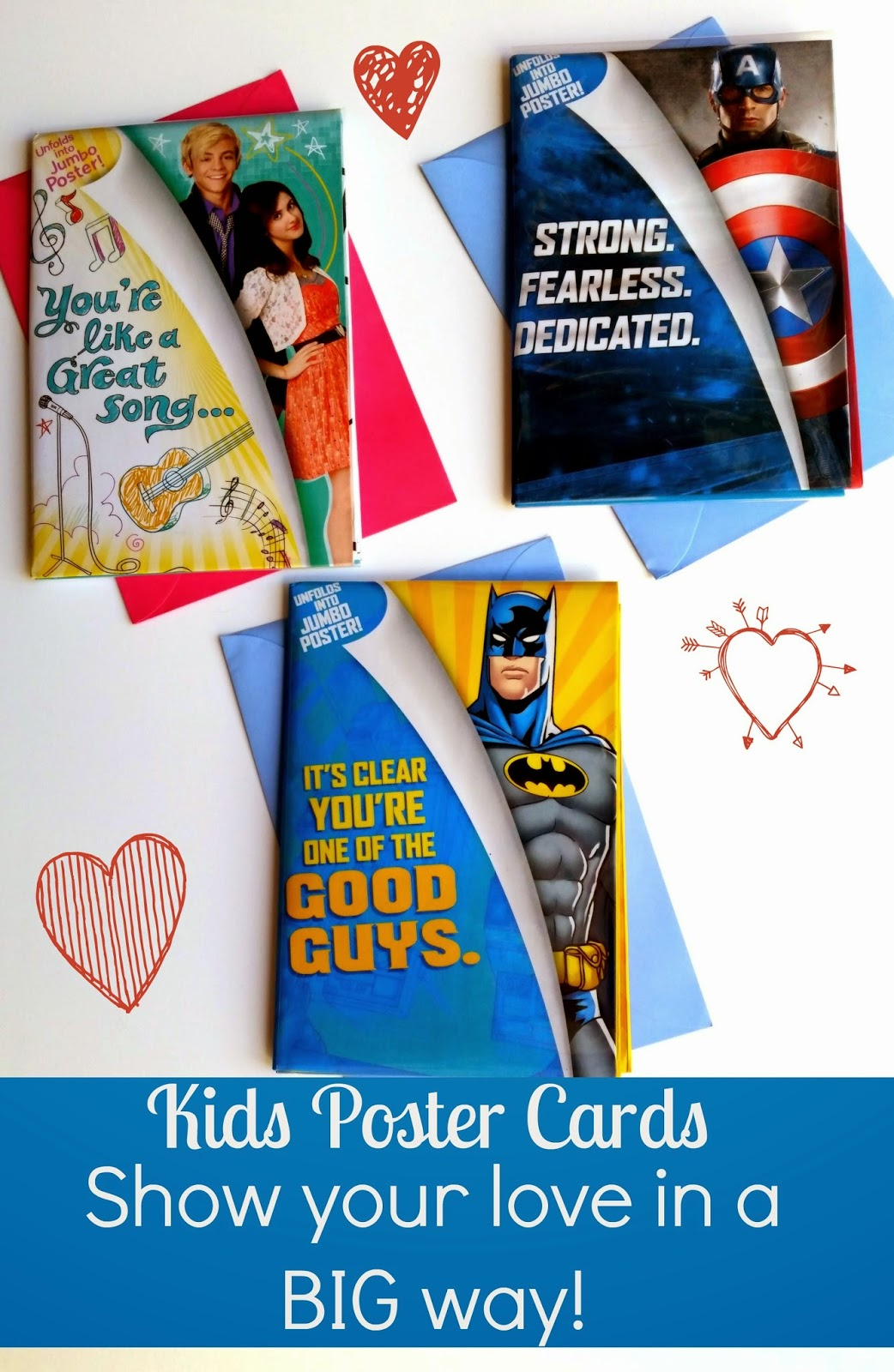 Showing my step-kids love in a BIG way! #kidscards #shop