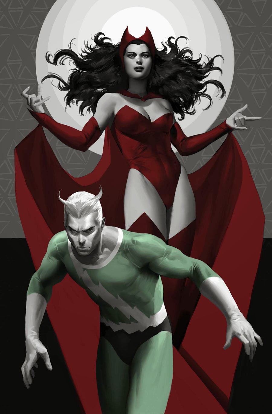 scarlet witch,quicksilver