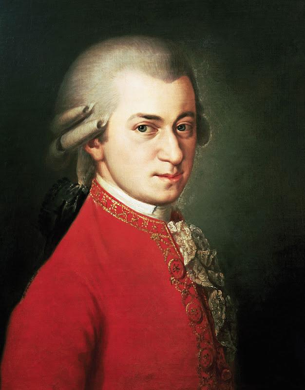 Johann Nepomuk della Croce - Wolfgang Amadeus Mozart