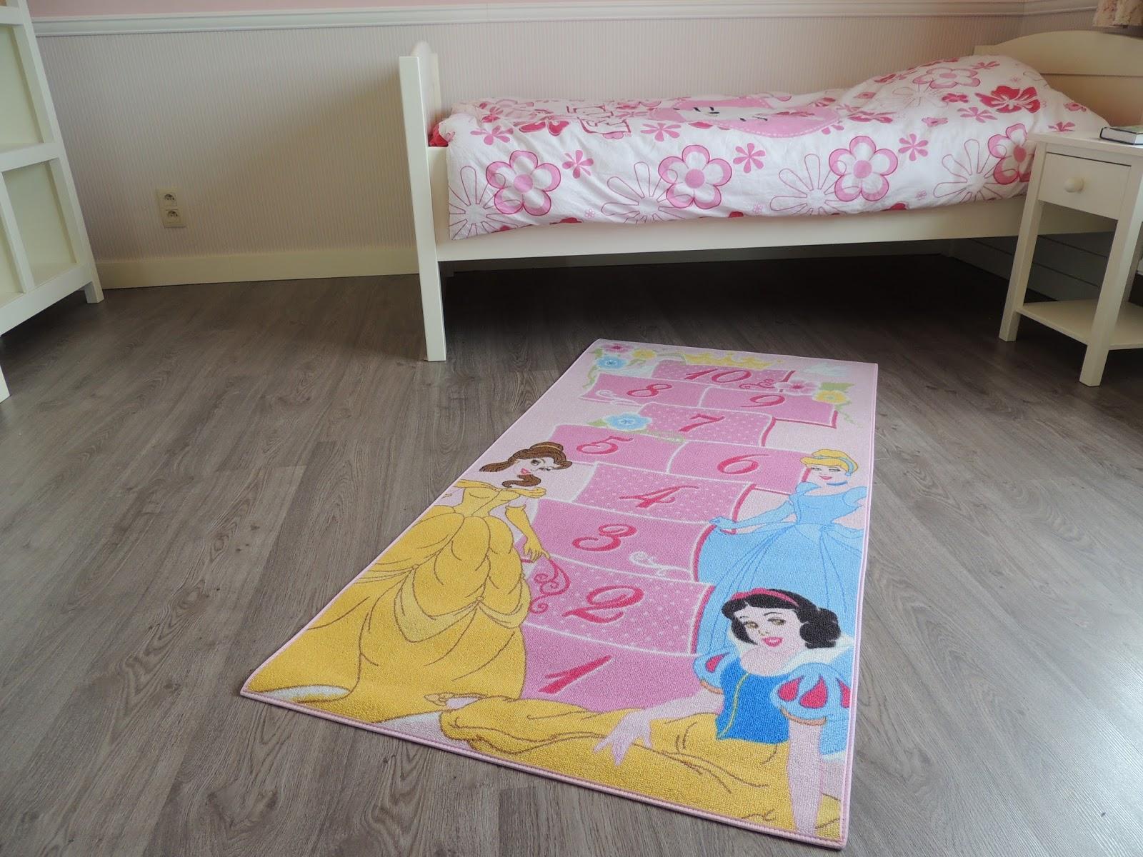 ... - Vloerkleden prinsessen voor meisjeskamer - Roze vloerkleed meisjes