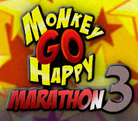 Monkey Go Happy Marathon 3 walkthrough.