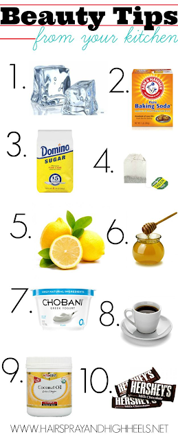Beauty Tips From Your Kitchen