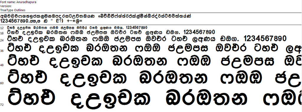 Stylized සිංහල Unicode Fonts Download | Free Download Sinhala ...
