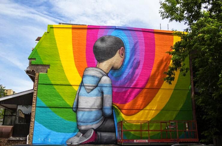 Seth new mural montreal canada streetartnews for Art mural montreal