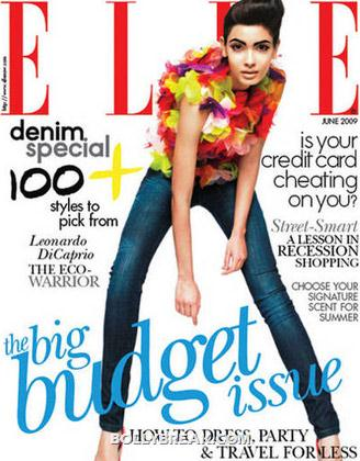 Diana Penty on Elle Magazine CoverPage - (3) - Diana Penty All Magazine CoverPage Scans