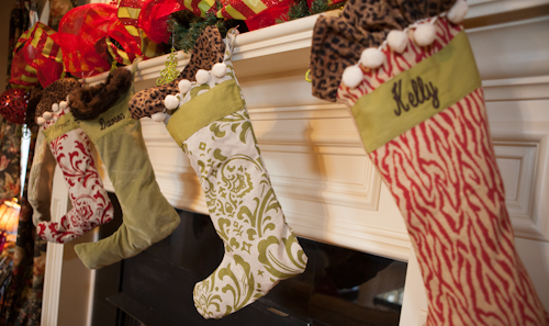 I Bought Our Stockings Around Nine Years Ago From Ballard Designs Two Of The Went Blank Until We Had Girls You Can See Have A One