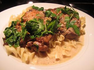 Dairyfree Chicken & Mushroom Ragout in slow cooker