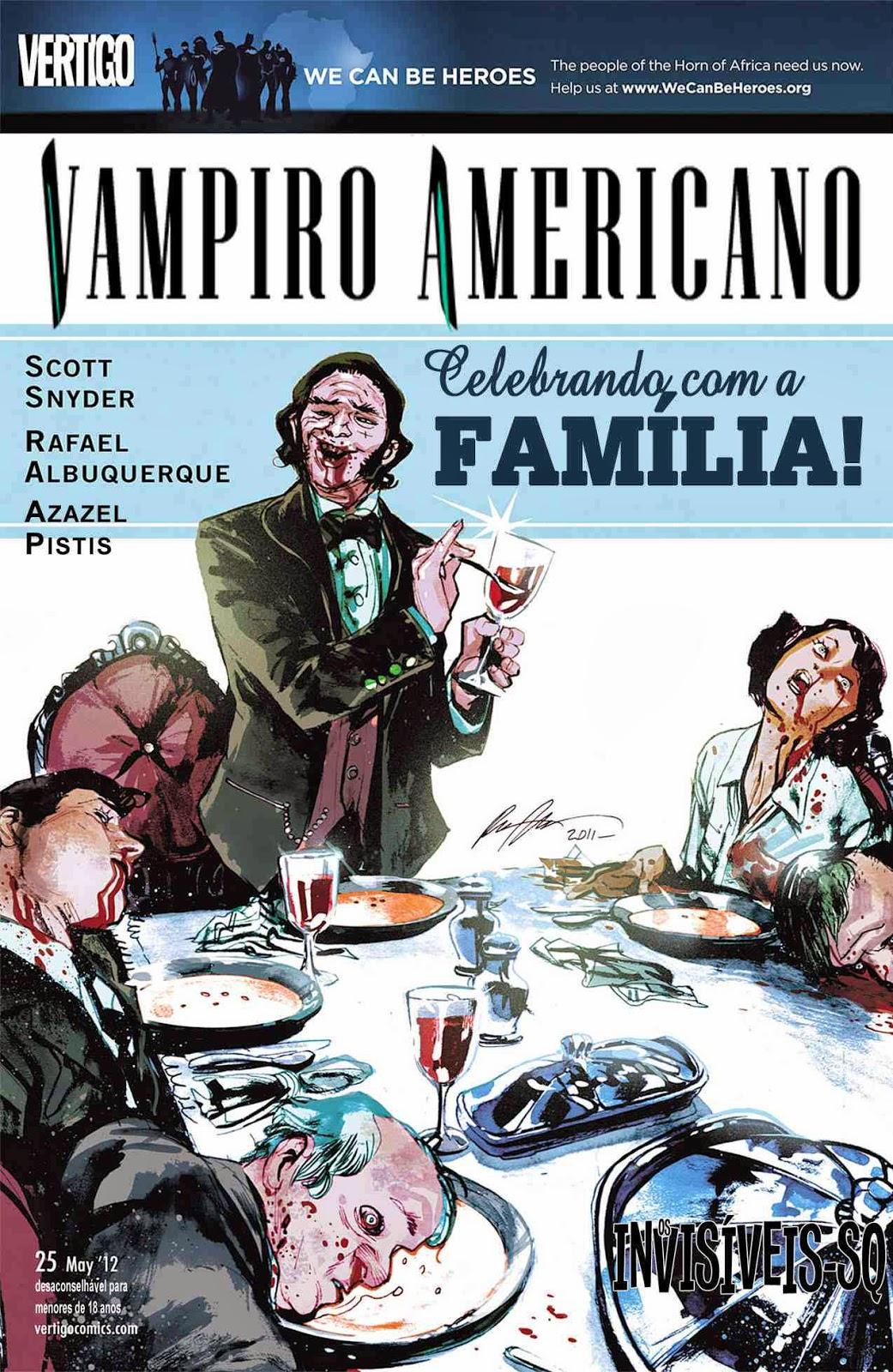 Vampiro Americano #25 | BRASIL HQ