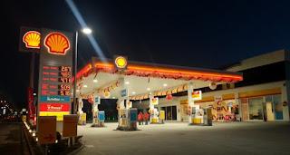 Shell'den Oscarlık kampanya benzin istasyonu