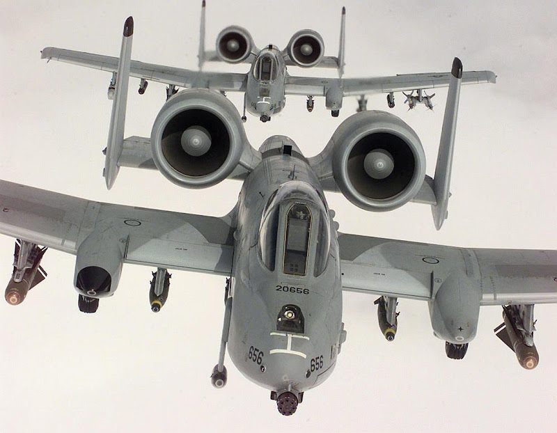 A-10 Thunderbolt II anti Tank Aircraft