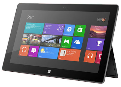 16GB microsoft surface tablet windows 8 RT no release image | new gadgets, upcoming phone, gadget update | Gadget Pirate