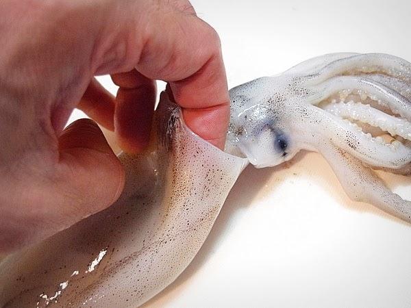 イカとジャガイモのキムチ炒めの作り方(2)