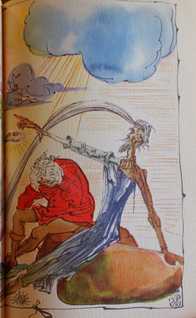 Salvador Dali, Don Quixote, 1946, the Illustrated Modern Library