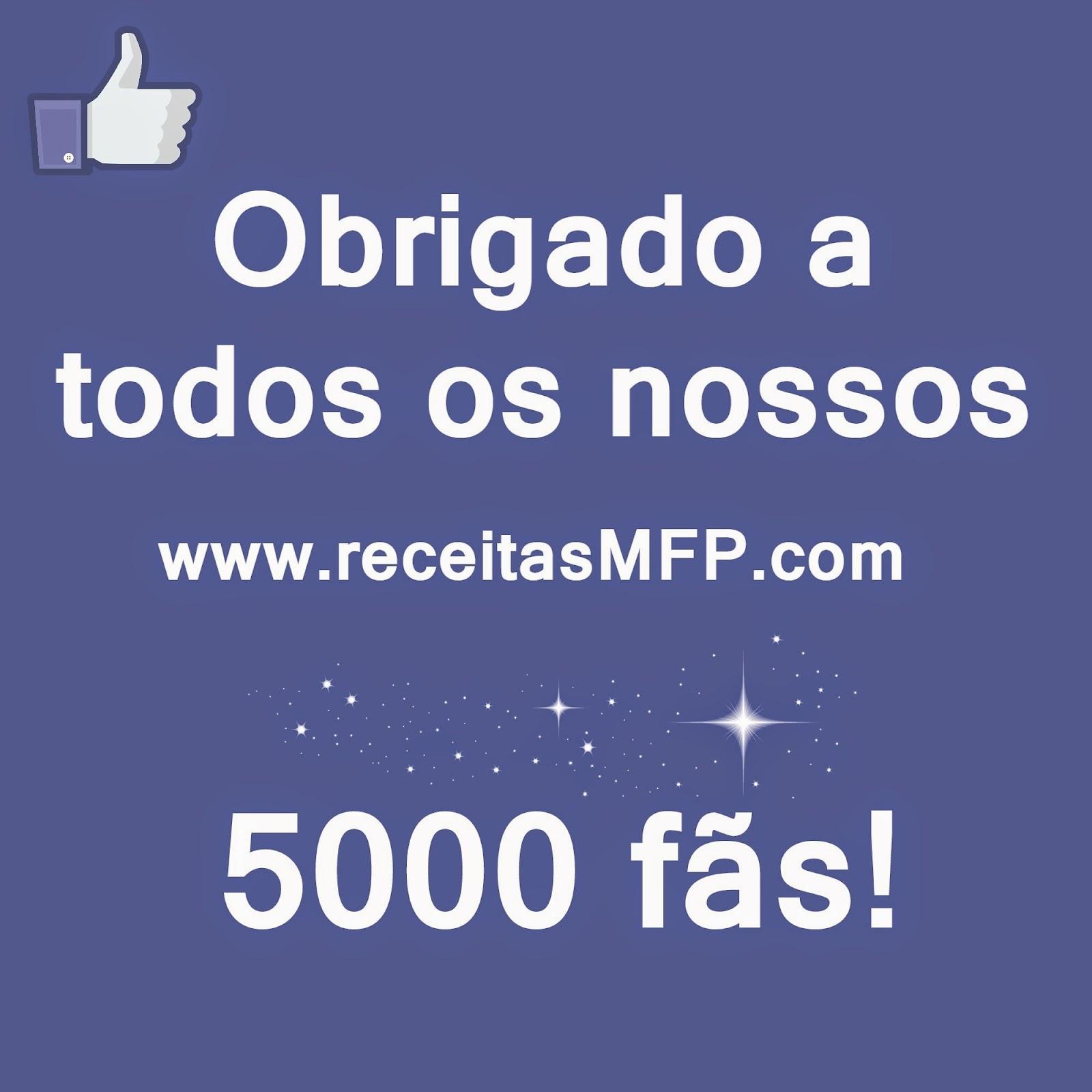ReceitasMFP Facebook fãs