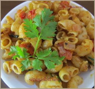 Tomato macaroni