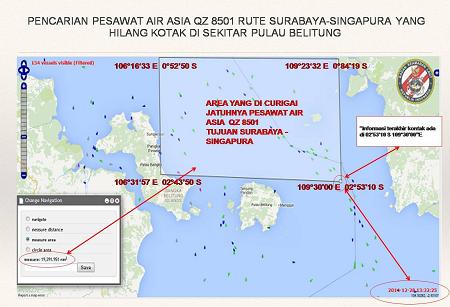 Perkiraan penyebab hilangnya Pesawat Air Asia QZ 8501