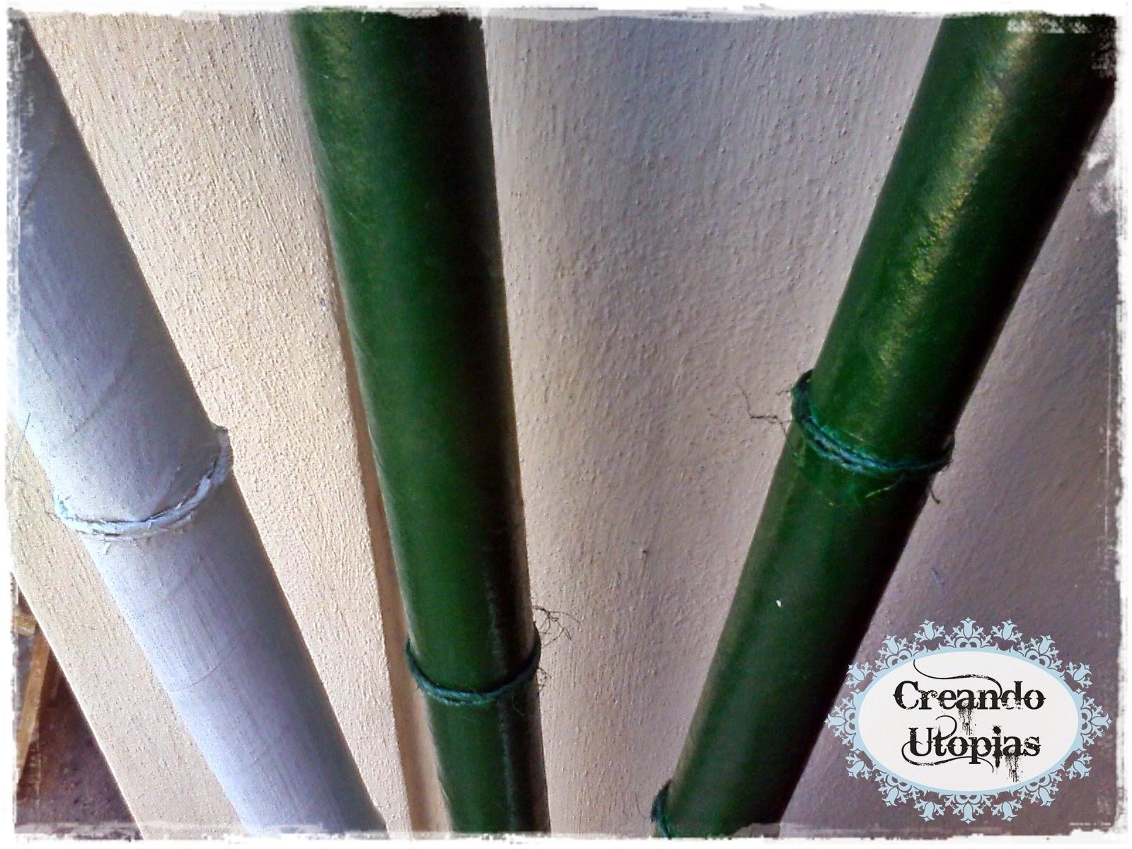 Creaciones Mdo ~ Cañas De Bambu Verdes Para Decorar